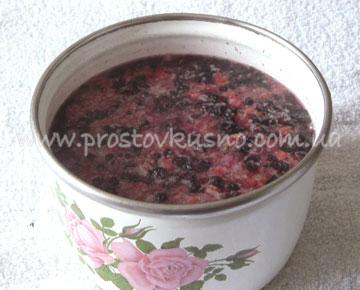 ягодный морс приготовление
