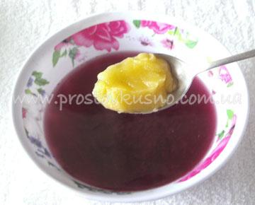 ягодный морс с медом