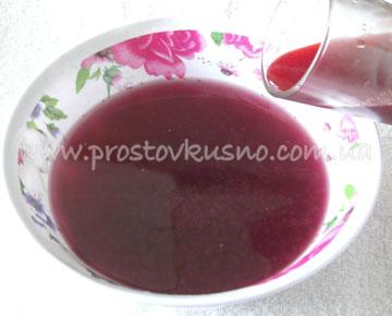 морс ягодный рецепт