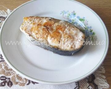 запеченная красная рыба для фаршировки