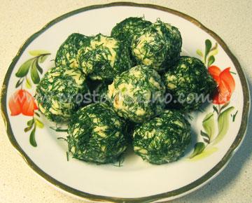 Сырные шарики с черносливом, рецепт