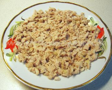 Рецепт салата белая береза